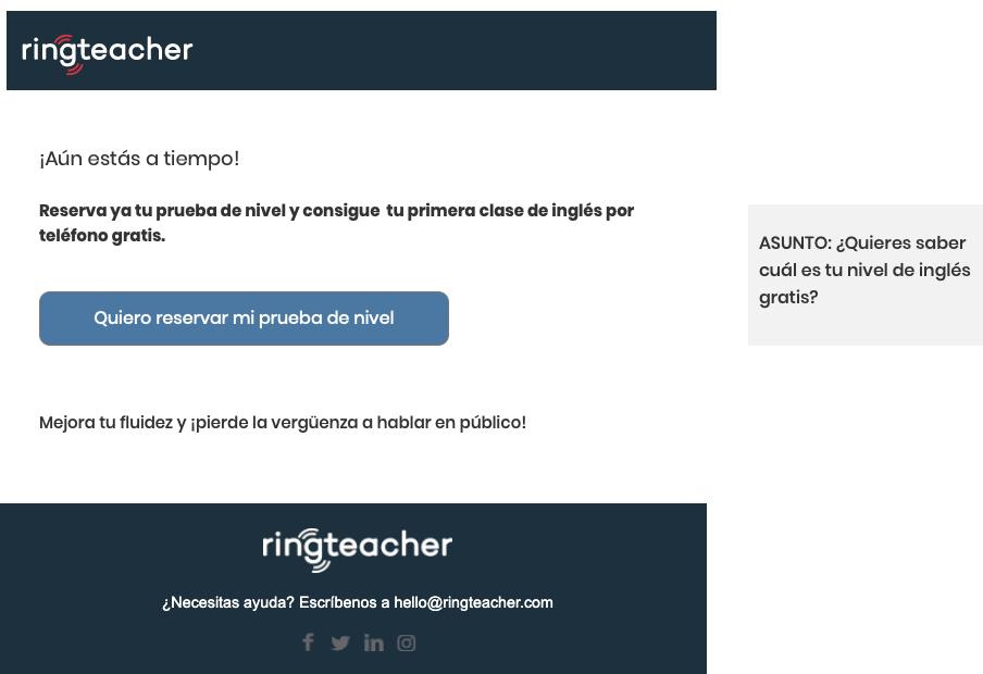 Email ringteacher